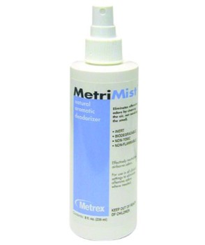 MetriMist Air Freshener Odor Eliminator 8oz Spray Metrex 101158- 1 EA