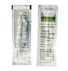 Aplicare Compound Benzoin Tincture Swabstick 4 Inch LF S1116- 1 Each