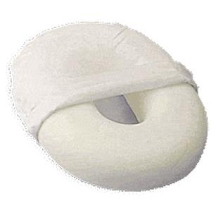 Donut Foam Cushion Oval Invalid Ring White Cover Hermell IR7010- 1 EA