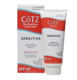 CoTZ Sensitive Sunscreen Cream SPF 40 3.5oz Tube 418015- 1 Each