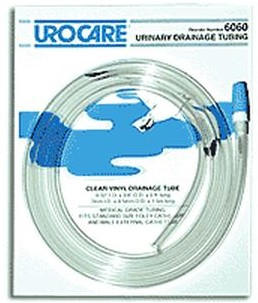 Urocare Urinary Drainage Tubing 0.28 Inch ID x 5 Foot 6060- 1 Each