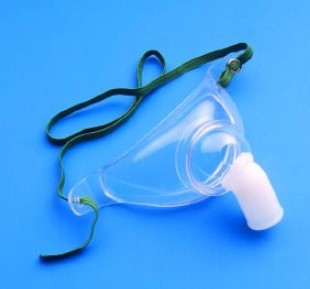 AirLife Trach Mask Adult Aerosol with Strap CareFusion 001225- 1 Each