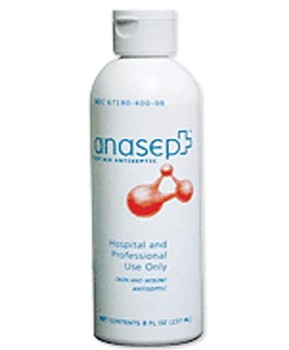 Anasept Wound Cleanser 8 oz Spray Anacapa Tech 4008SC- 1 Each
