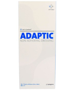Adaptic 3x16 Inch Non-Adhering Dressing Sterile Systagenix 2014- 1 Each