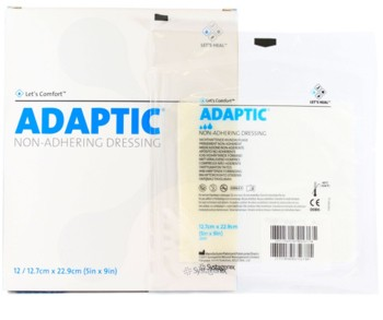 Adaptic 5x9 Inch Non-Adhering Dressing Sterile Systagenix 2019- 1 Each