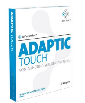 Adaptic Touch 3x2 Non-Adhering Silicone Dressing 500501- 1 Each