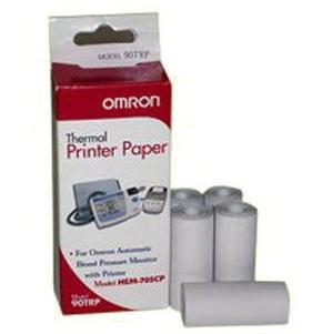 Omron Printing Paper for HEM705CP Blood Pressure Unit 0090TRP- 5 Pack