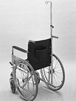 IV Pole for Wheelchairs Single Hook 41-74 Inch Height PMI 0535- 1 Each