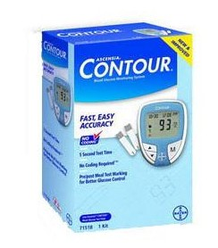 Bayer Contour Blood Glucose Monitoring System 7151- 1 Each