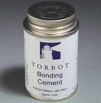 Torbot Bonding Cement Adhesive 4oz Can with Brush TT410- 1 Each