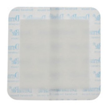 DermaRite 2x2 Inch Bordered Gauze Dressing Sterile 00261E- 1 Each
