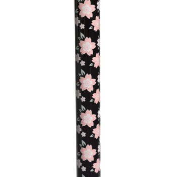Drive Walking Cane Pink Floral with Offset Handle RTL10303PF- 1 Each