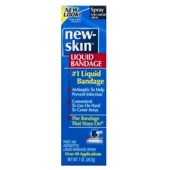 New-Skin Liquid Bandage Spray 1 oz Antiseptic Emerson 3631389- 1 Each