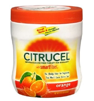 Fiber Supplement Citrucel Orange Powder 16oz Glaxo 1327329- 1 Each