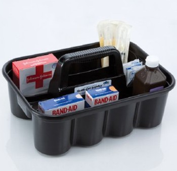 Easy Carry Caddy Gray for Personal Medication Health Care 5228- 1 Each