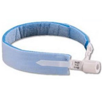 Dale 240 Blue Trachea Tube Holder Moisture Repellant Neckband- 1 Each