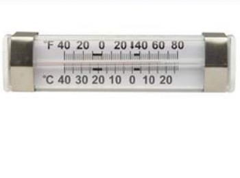 Refrigerator Thermometer Dual-Scale Fisherbrand 13201966- 1 Each