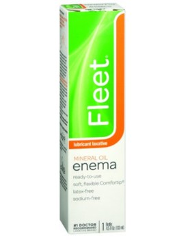 Fleet Mineral Oil Enema Sodium-Free 4.5 oz Latex Free 301- 1 Each