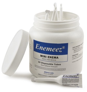 Box Enemeez Mini Enema 5mL Enema Tubes Alliance 17433987603- Pack/30