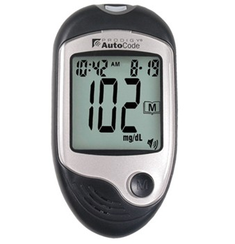 Prodigy AutoCode Blood Glucose Meter Talking Glucometer 51885- 1 Each