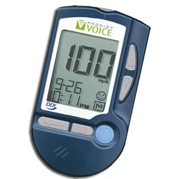 Prodigy Voice Blood Glucose Meter Talking Glucometer 51900- 1 Each