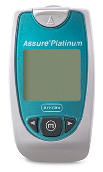 Blood Glucose Meter Assure Platinum 7 Seconds 500001- 1 Each