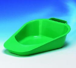Disposable Plastic Bed Pan 47.3fl oz Fracture Type- Carex P705OO- 1 Ea