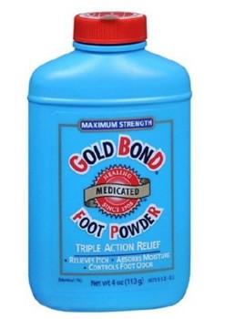 Gold Bond Foot Powder 4 Ounce Menthol Scent Chattem 01704- 1 Each
