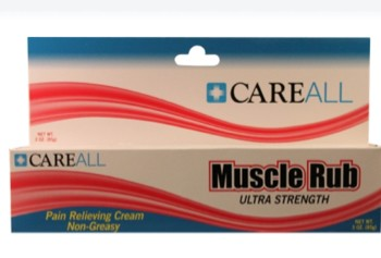 CareAll Muscle Rub Topical Pain Relief 3 Ounce Ointment MUS3- 1 Each