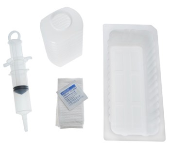 AMSure Irrigation Tray 60mL Thumb Control Syringe Amsino AS136- 1 Each