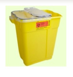 Container Chemo Waste Yellow BD X-Large 17 Gallon BD 305614- Case of 5