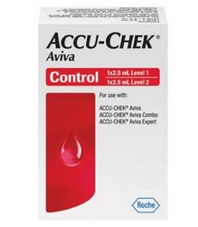 Control Solution Accu-Chek Aviva 2.5mL High & Low 04528638001- 1 Each