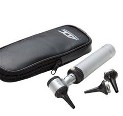 ADC Otoscope Economy 2.5V with Speculas & Carrying Case 5211- 1 Each