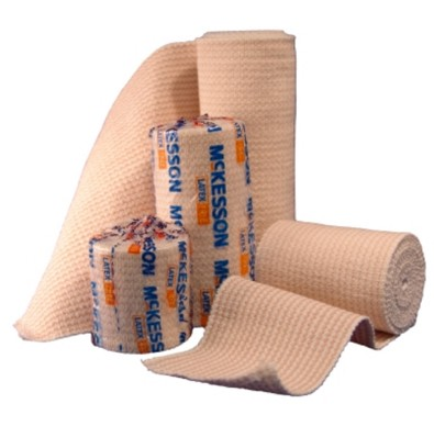 Bandage Elastic 4 inch x 5 yds for Compression MediPak 1610334- 1 Each