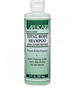 Case of Aplicare Shampoo and Body Wash 8oz Herbal 826258- Case/24
