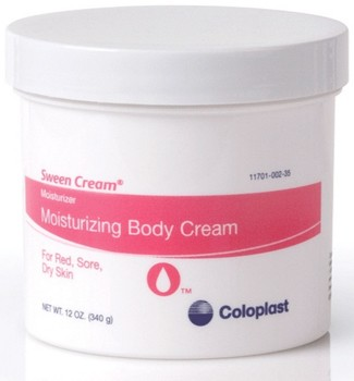 Sween Cream 12oz Jar Soothes Red Sore Skin Coloplast 7069- 1 Each