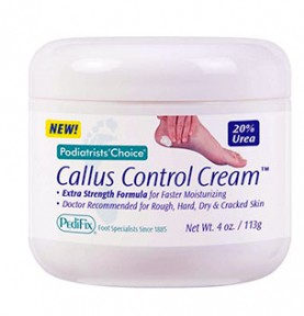 Pedifix Callus Control Cream 4 oz Jar Foot Moisturizer P3310- 1 Each