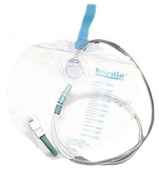 Bardia Urinary Drainage Bag 2000mL with Cloth Strap 802002- 1 Each