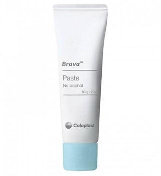 Brava Ostomy Paste with Pectin 2 oz Sting-Free Coloplast 12050- 1 Each