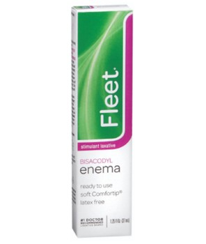 Fleet Enema 10mg Bisacodyl Constipation Relief 1.25oz 703- 1 Each