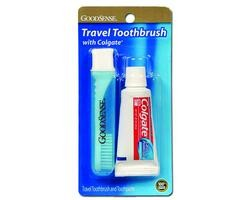 Travel Toothbrush With Paste